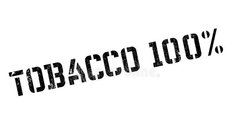 Carimbo de borracha do cigarro 100 fotografia de stock
