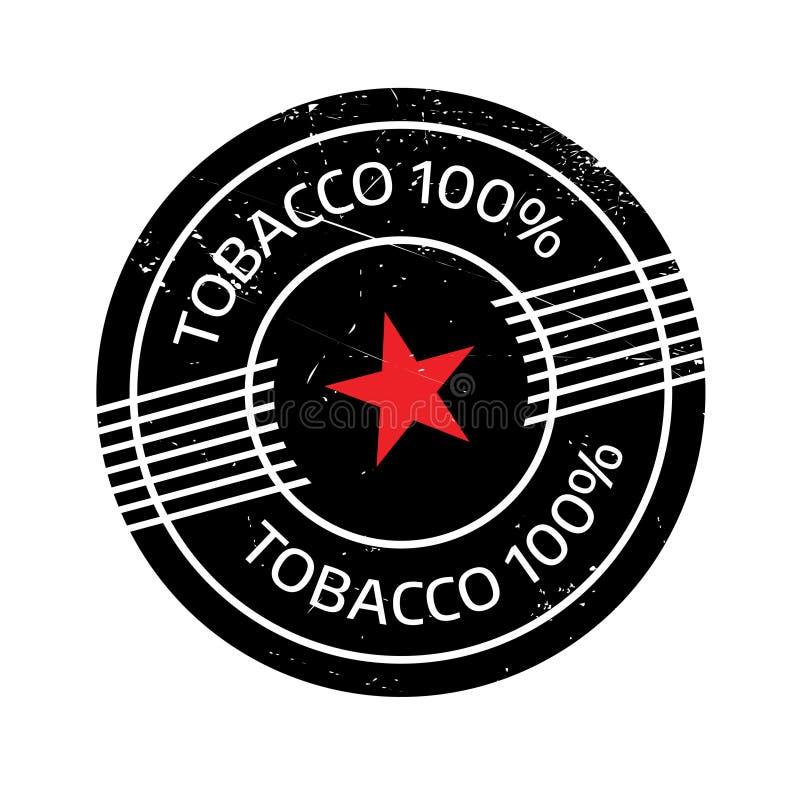 Carimbo de borracha do cigarro 100 imagem de stock