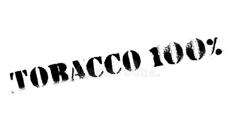 Carimbo de borracha do cigarro 100 fotografia de stock royalty free