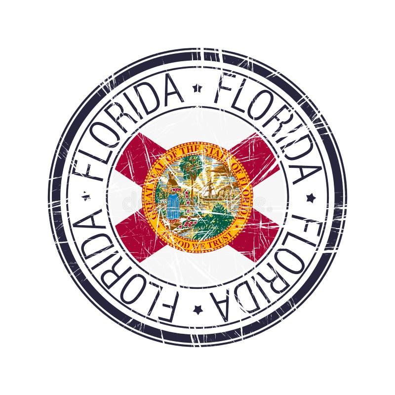 Carimbo de borracha de Florida ilustração do vetor