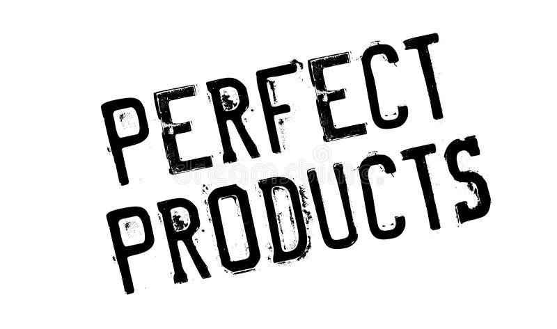 Carimbo de borracha perfeito dos produtos imagem de stock royalty free