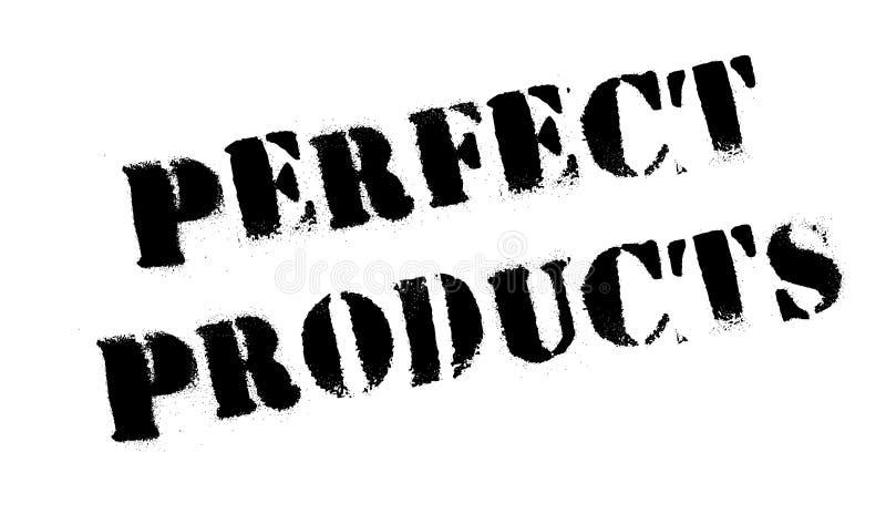 Carimbo de borracha perfeito dos produtos fotos de stock