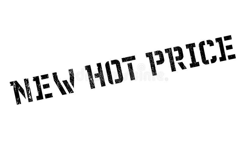 Carimbo de borracha quente novo do preço imagem de stock royalty free