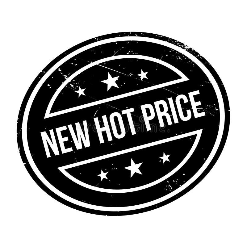 Carimbo de borracha quente novo do preço foto de stock royalty free
