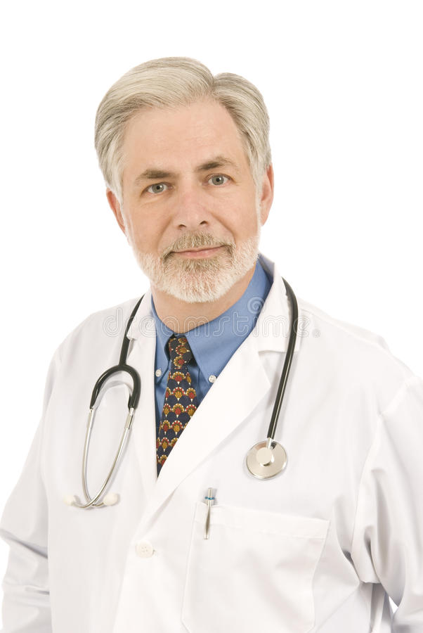 Caring Doctor royalty free stock photography