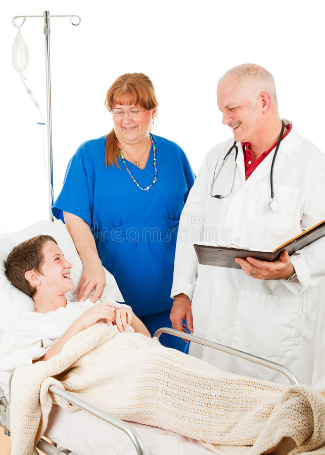 Download Caring Hospital Staff stock photo. Image of intravenous - 8875110