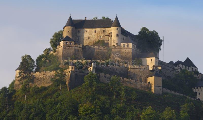 carinthia castle hochosterwitz k rnten fotografering för bildbyråer