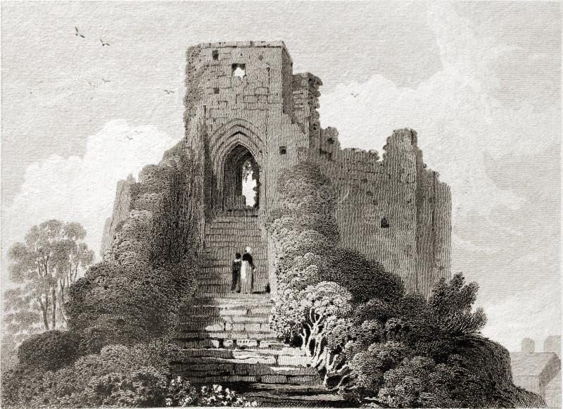 Download Carisbrooke slott. redaktionell arkivbild. Bild av engelskt - 27279822