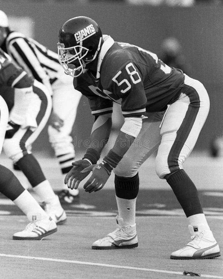 Carl Banks. New York Giants LB Carl Banks, #58. (Image taken from the B&W negative stock photos