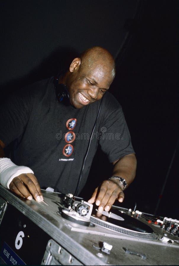 Carl Cox DJ obraz royalty free