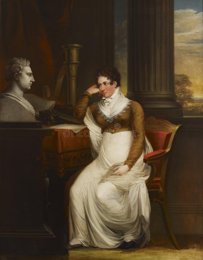 Carl Fredrik von Breda (1759–1818): Beata Charlotta Gripenwaldt, née Wennerstedt / Beata Charlotta Gripenwaldt, o.s. royalty free stock images