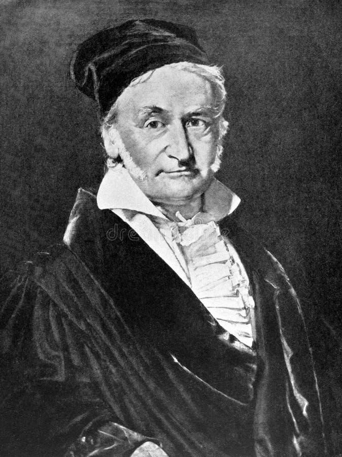 Carl Gauss Friedrich obraz stock