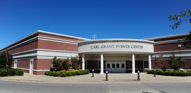 Carl Grant wydarzeń centrum przy Zrzeszeniowym uniwersytetem w Jackson, Tennessee zdjęcie royalty free