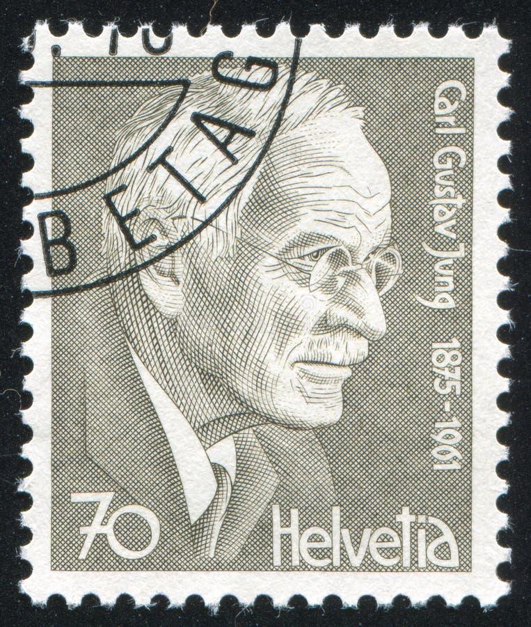 Carl Gustav Jung royalty-vrije stock afbeelding