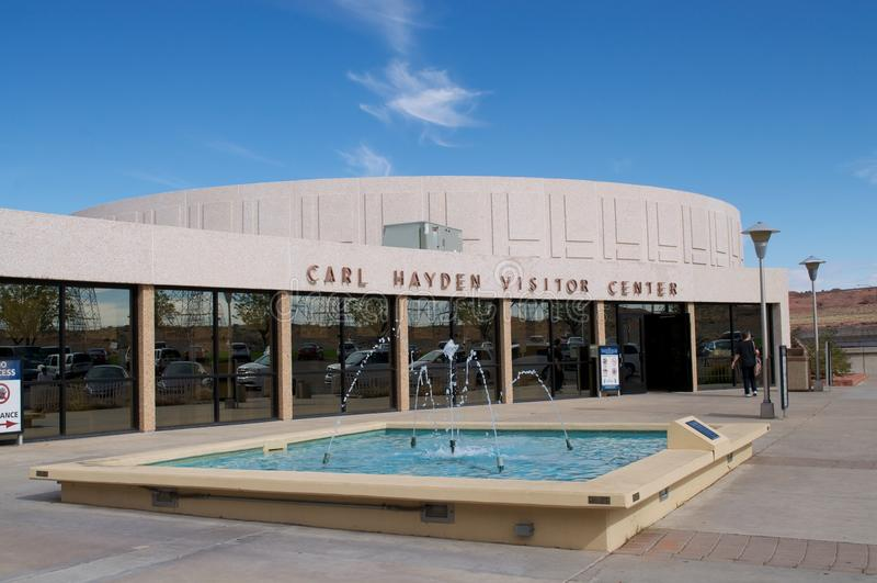 Carl Hayden Visitor Center fotografia de stock royalty free