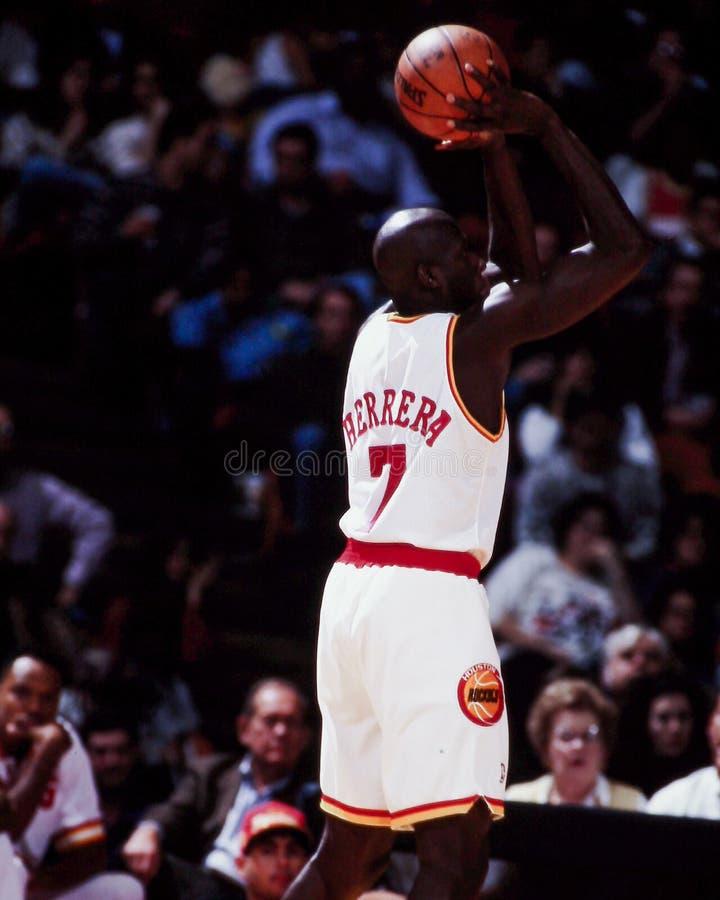Carl Herrera, Houston Rockets photos libres de droits