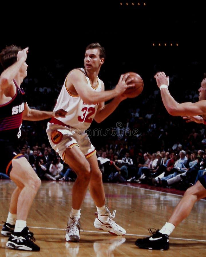 Carl Herrera, Houston Rockets images libres de droits