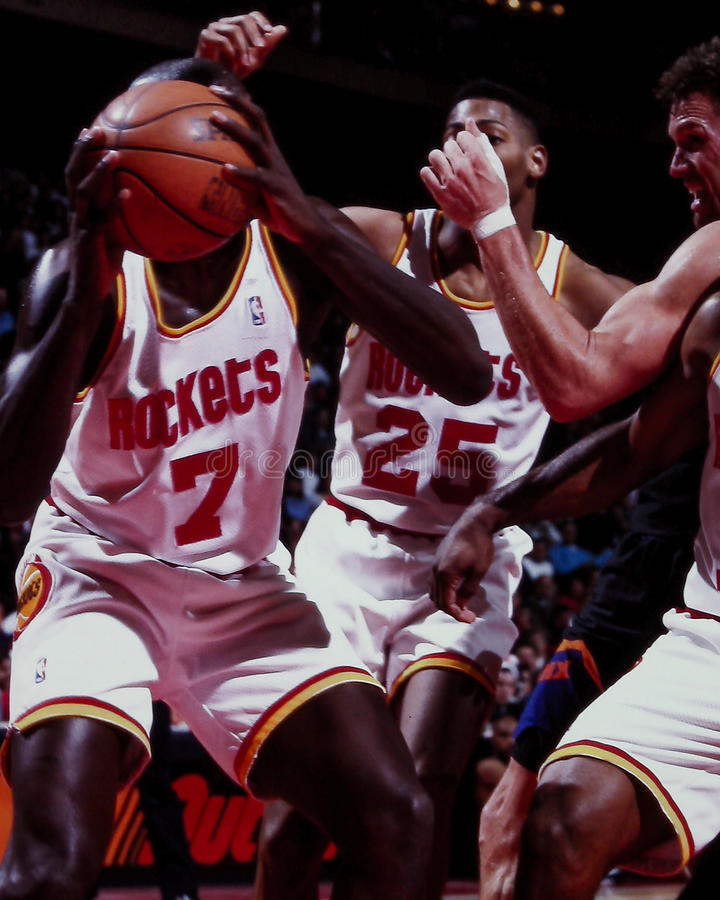 Carl Herrera, Houston Rockets images stock