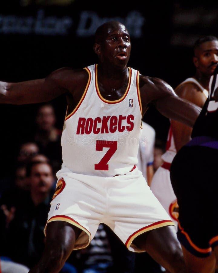 Carl Herrera, Houston Rockets photo libre de droits