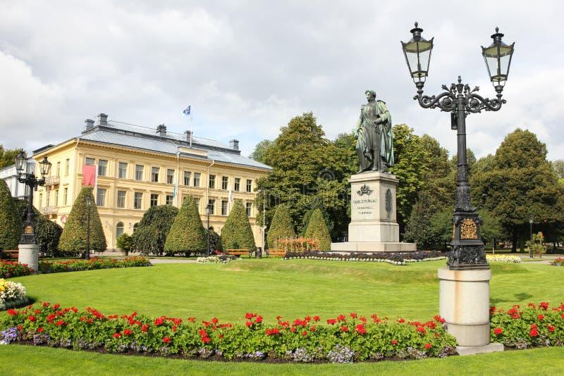 Carl Johans-park. Norrkoping. Zweden stock foto