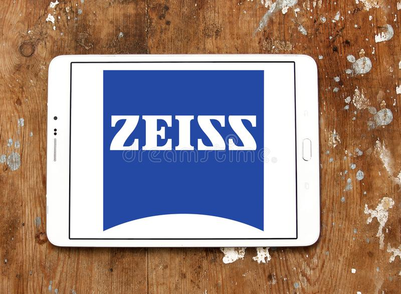 Carl Zeiss company logo royalty free stock photos