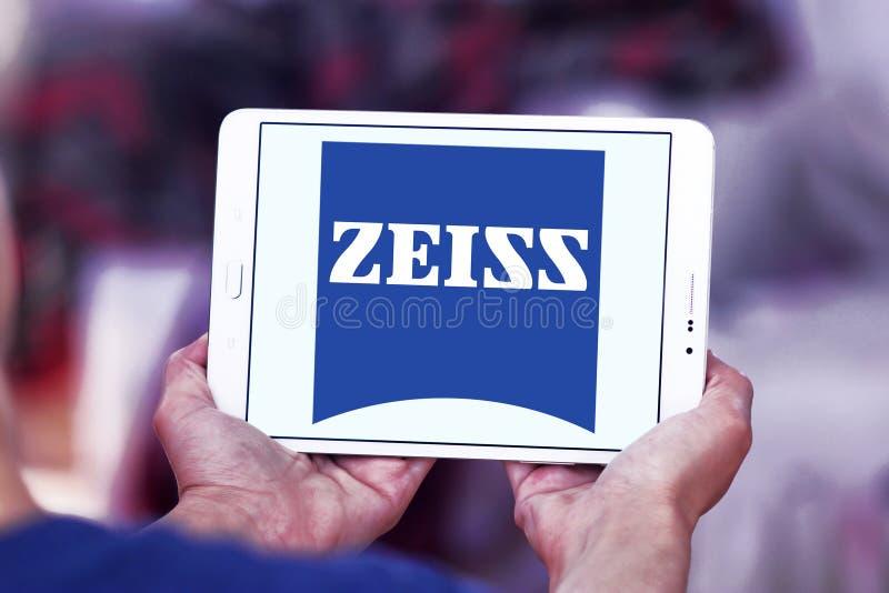 Carl Zeiss-Firmenlogo stockbild