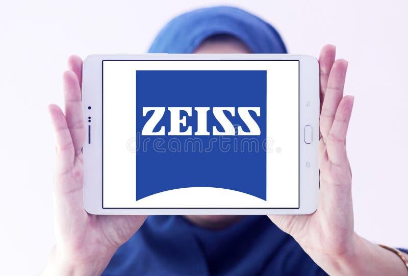 Carl Zeiss-Firmenlogo lizenzfreie stockbilder