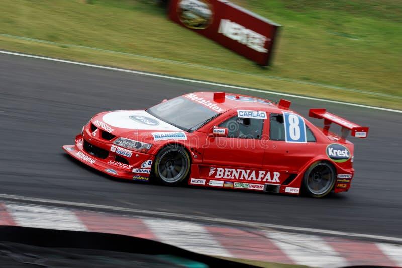 Carlao Racing Stock Car Interlagos Brazil stock photos