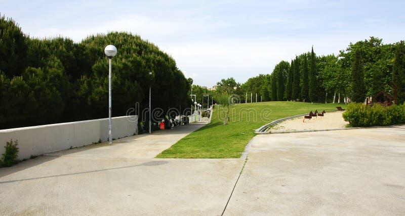 Carles Ja ogródy zdjęcie royalty free