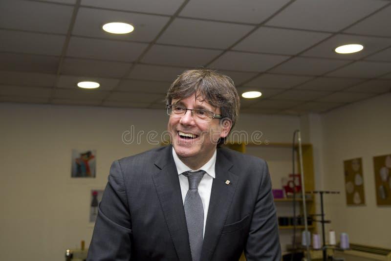 Carles Puigdemont immagine stock