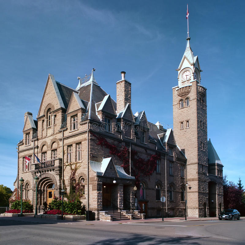 Carleton Place Town Hall royalty free stock photo
