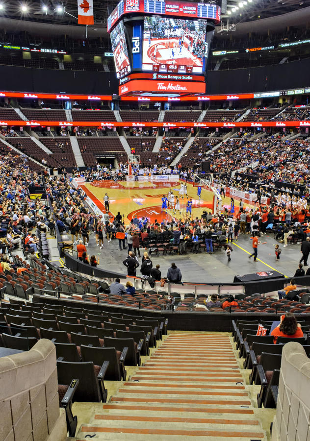 Scotiabank Place stock photography