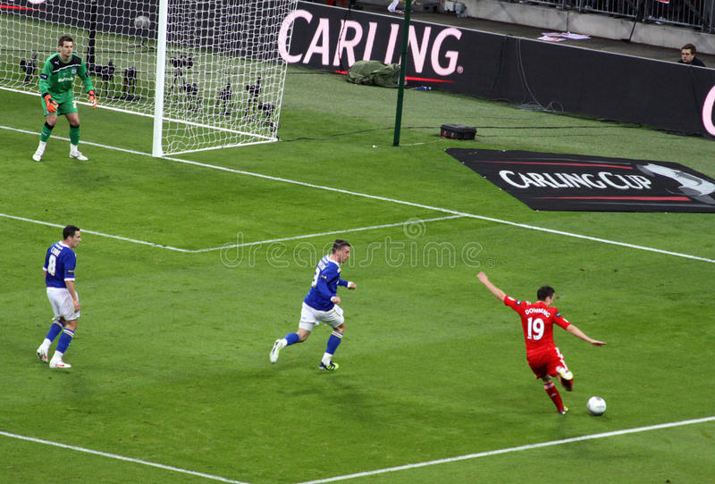 Download Carling Cup Final - Downing Strike Editorial Photo - Image: 23563821