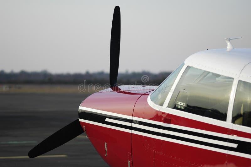 Carlinga del aeroplano fotos de archivo libres de regalías