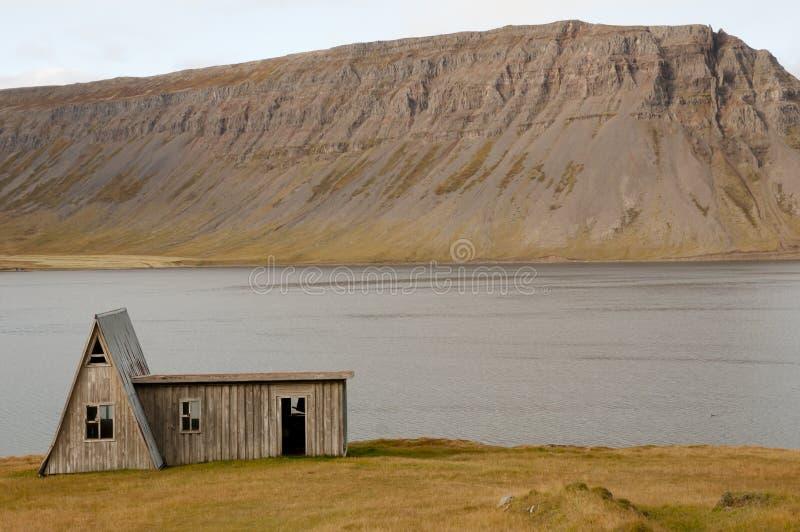 Carlingue abandonnée - Islande photos libres de droits