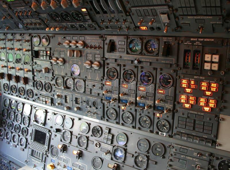 Carlingue d'avion photos stock