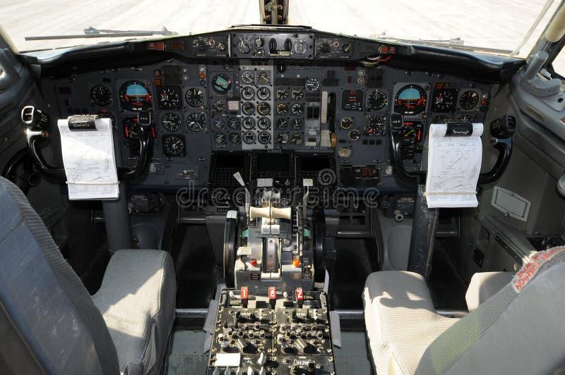 Carlingue d'avion d'avion à réaction photos libres de droits