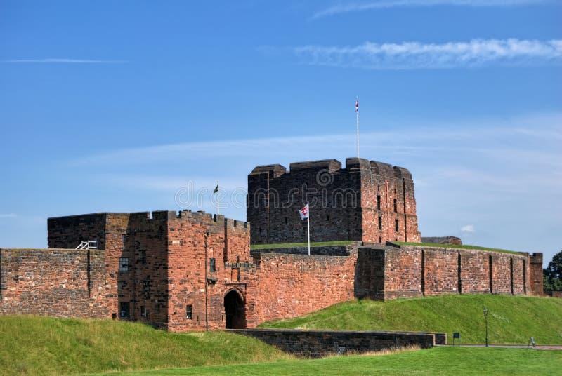 Carlisle Castle stock image