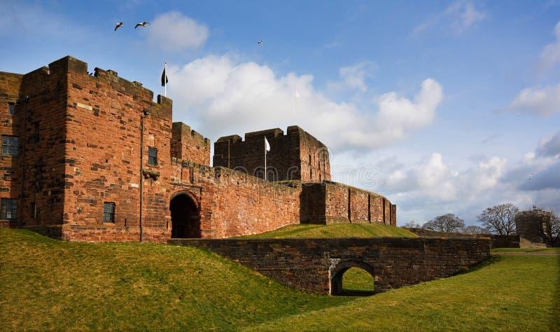 Carlisle Castle imagens de stock
