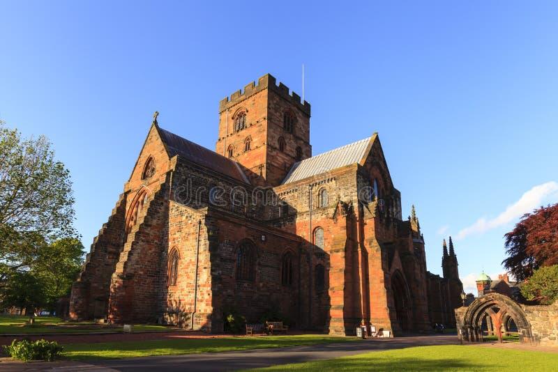 Carlisle Cathedral stockbilder