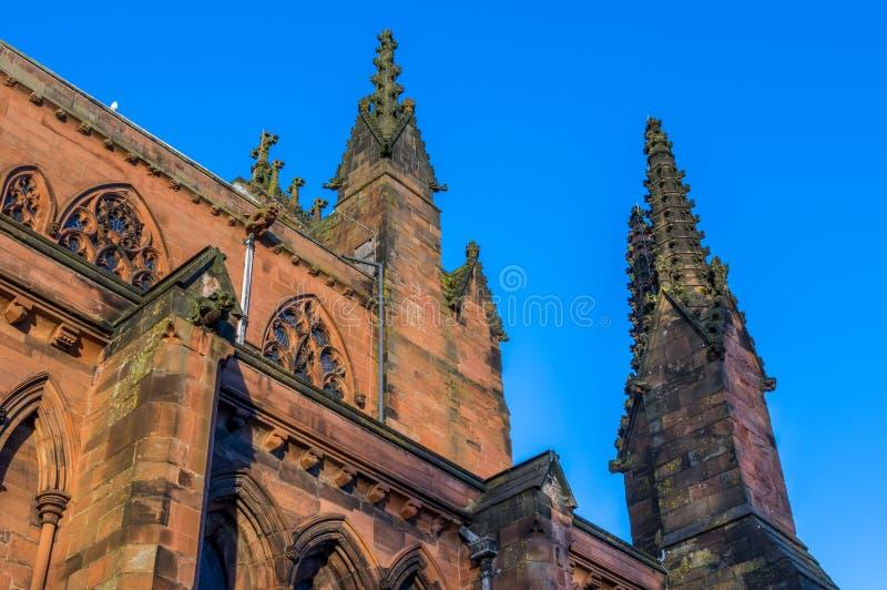 Carlisle Cathedral stockbild
