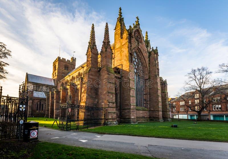 Carlisle Cathedral lizenzfreies stockfoto