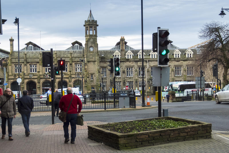 Carlisle City Railway Station photos stock