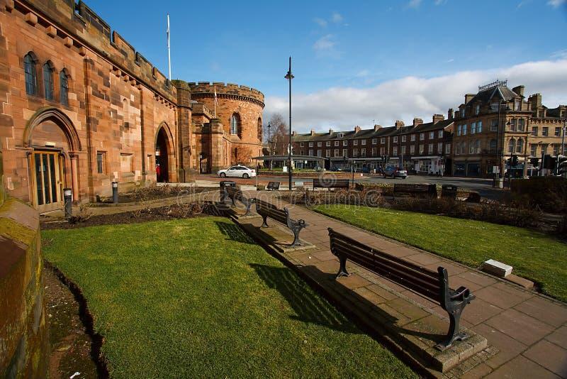 Carlisle Courts e o crescente foto de stock royalty free