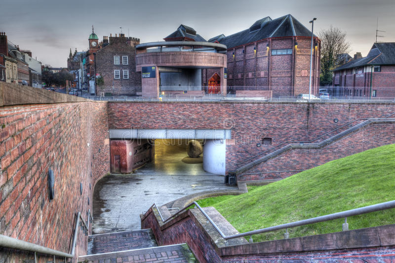 Carlisle la nuit photographie stock libre de droits