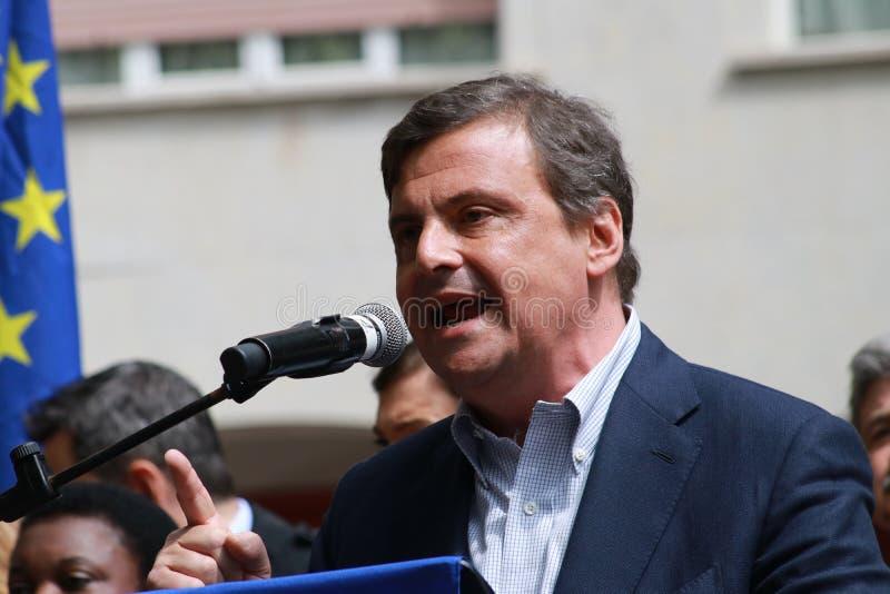 Carlo Calenda, ekonomista partia demokratyczna fotografia royalty free