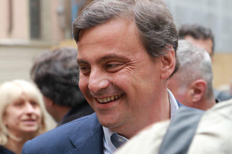 Carlo Calenda, ekonomista partia demokratyczna obraz royalty free