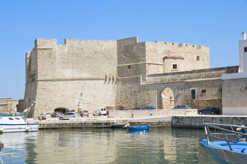 Carlo V Castle. Monopoli. Apulia. royalty free stock images