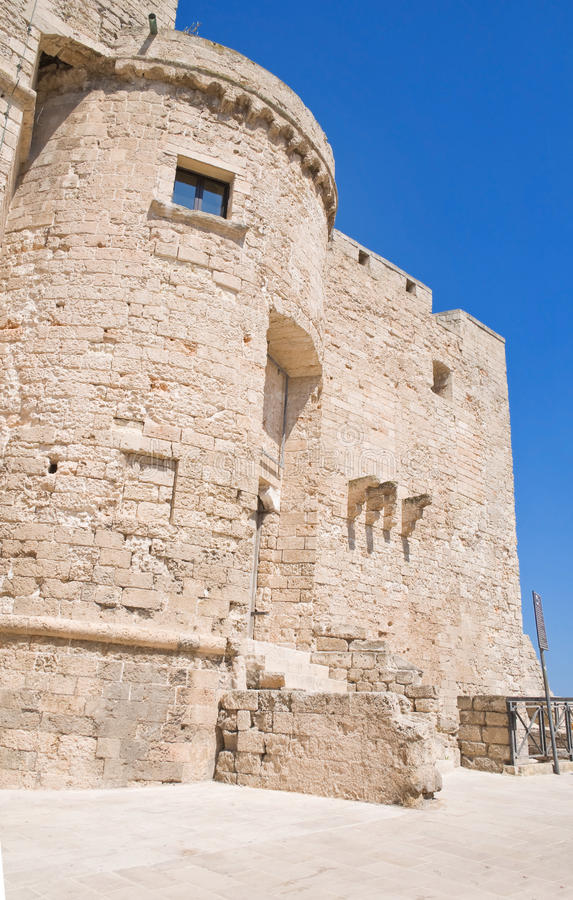 Carlo V Castle. Monopoli. Apulia. royalty free stock photos