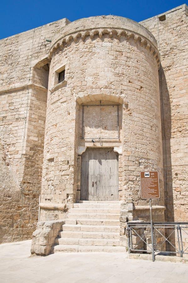 Carlo V Castle. Monopoli. Basilicata. royalty free stock photos